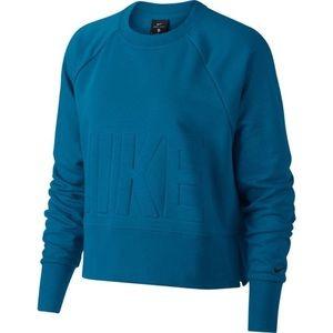 NWT Nike Dri-Fit Logo Oversized Sweatshirt